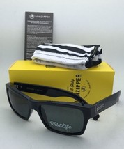 Polarized VONZIPPER Sunglasses VZ FULTON Shiny Black frame w/ WildLife Grey Lens