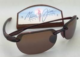 019d01959cb4 Polarized MAUI JIM Sunglasses SANDY BEACH MJ 408-10 Tortoise Frame w  HC.