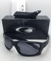 New OAKLEY Sunglasses STRAIGHTLINK OO9331-02 Matte Black Frames w/ Grey Lenses