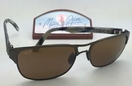 Polarized MAUI JIM Sunglasses HANG 10 MJ 296-20A Bronze Frame w/ HCL Bronze Lens - $319.95