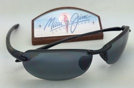 Polarized MAUI JIM Sunglasses MAKAHA MJ 405-02 Black Frame w/Neutral Grey Lenses - $189.95