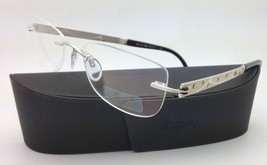 New Jeweled SILHOUETTE Eyeglasses 4231 6050 50-17 Silver & Ivory w/ Clea... - $489.95