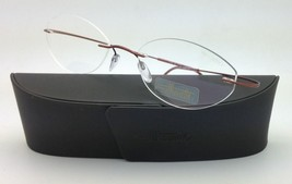 New SILHOUETTE Eyeglasses TITAN MINIMAL ART 7799 6069 Copper 53-19 150 D... - $265.95