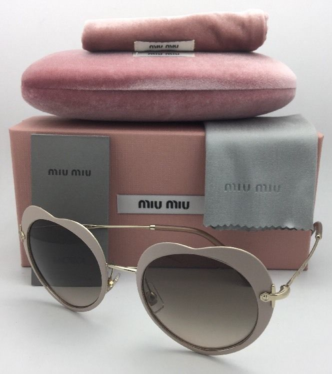 83fa2f79a2 MIU MIU Sunglasses SMU 54R U6I-3D0 52-20 and 40 similar items. S l1600