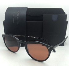 OLIVER PEOPLES The ROW Sunglasses O'MALLEY NYC 5183SM 100553 Black w/ Persimmon
