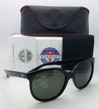 New! VUARNET Sunglasses VL 1207 P001 Black Frames with PX 3000 Grey Glass Lenses