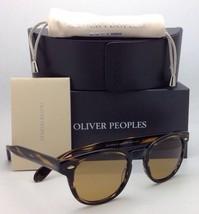 Oliver Peoples Sunglasses Sheldrake Ov 5036-S 1003/R9 Cocobolo w/ Champagne Lens - $404.99