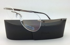New SILHOUETTE Eyeglasses TITAN IMPRESSIONS 7776 6055 54-19 Brown w/Clea... - $279.95