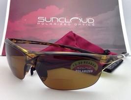 SUNCLOUD POLARIZED OPTICS Sunglasses ZEPHYR Tortoise w/ Brown +1.5 READER Lenses