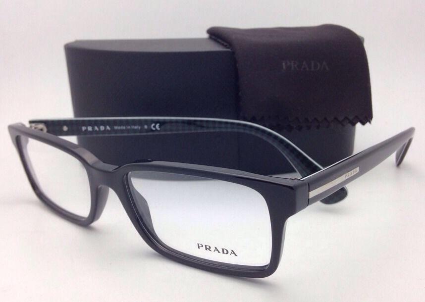 03f4d01c26a New PRADA Eyeglasses VPR 15Q 1AB-1O1 54-17 and 50 similar items