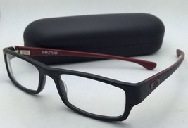New OAKLEY Eyeglasses SERVO OX1066-0451 51-18 Black &Brick-Red Frame - $179.95