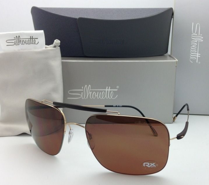 25dad025152 Titanium Polarized SILHOUETTE Sunglasses and 11 similar items. S l1600