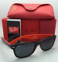 New Ray-Ban Sunglasses RB 2132 6180/R5 55-18 NEW WAYFARER Havana Frame/Grey Lens