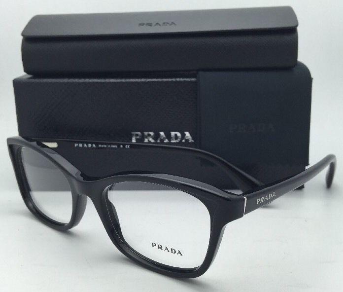 3887f7b07b98 New PRADA Eyeglasses VPR 05P 1AB-1O1 52-18 and 50 similar items