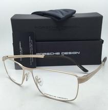 New PORSCHE DESIGN Titanium Eyeglasses P'8273 C 58-15 145 Matte Gold Frames