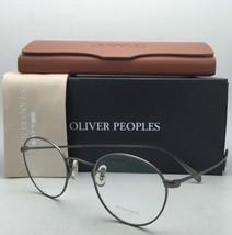 New Oliver Peoples Eyeglasses Coleridge Ov 1186 5244 47-22 Antique Pewter Frames - $339.95