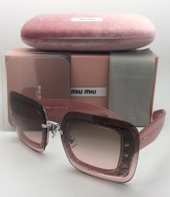 a58e3040632df New MIU MIU Sunglasses SMU 01R UEU-1E2 67-17 and 40 similar items. S l1600
