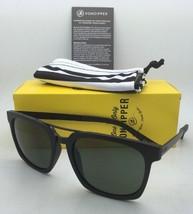 New VONZIPPER Sunglasses VZ PLIMPTON Black Satin Frame w/ Grey-Green Lenses