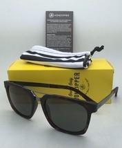 New VONZIPPER Sunglasses VZ PLIMPTON Tortoise Satin Frame w/ Grey-Green Lenses