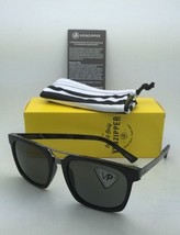 Wildlife Polarized VONZIPPER Sunglasses VZ PLIMPTON Black Frames  w/ Grey Lenses