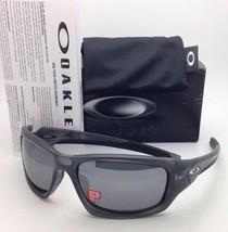 New Polarized OAKLEY Sunglasses VALVE OO9236-06 Matte Grey Frame w/Black Iridium