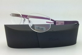 New SILHOUETTE Eyeglasses ENVISO 6665 6056 51-19 Purple Haze w/ Clear le... - $263.95