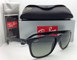 New Ray-Ban Sunglasses RB 4181 601/71 57-16 Black Frames w/ Grey Gradient Lenses