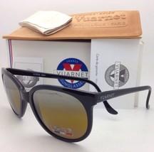 VUARNET Sunglasses VL 0002 0001 Black Frame w/ Green-Yellow Lens / Silver Mirror