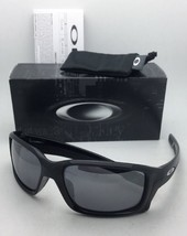 New OAKLEY Sunglasses STRAIGHTLINK OO9331-01 Polished Black w/Black Iridium Lens