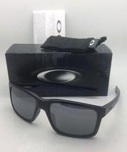 New OAKLEY Sunglasses MAINLINK OO9264-18 Black & Blue Frame w/Black Iridium Lens