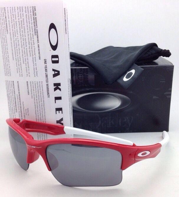6dfe79fadc S l1600. S l1600. Previous. OAKLEY Sunglasses QUARTER JACKET OO9200-08 Red  Frame with Black Iridium Lenses