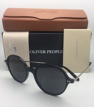 New Oliver Peoples Sunglasses Corby Ov 5347SU 100587 51-19 Black & Gold w/ Grey - $399.95