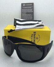 New VONZIPPER Sunglasses VZ PALOOKA Matte Black Satin Frame w/ Grey lenses