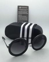 New VONZIPPER Sunglasses VZ FLING Round Crystal Silver Frame w/ Grey Gradient