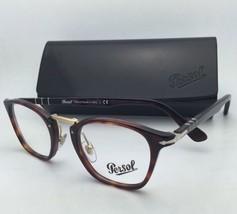 6c1883e34e New PERSOL Eyeglasses Typewriter Edition 3109-V 24 49-22 Havana Frame w