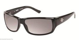 New HARLEY-DAVIDSON Eyeglasses HD 860X C33 62-14 125 Black Frame w/ Grey... - $94.95
