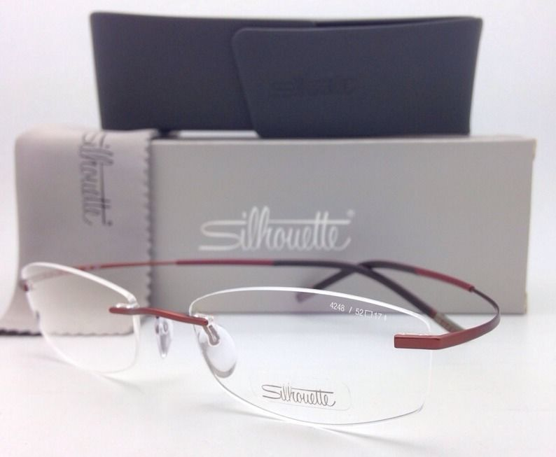 6f3714c3aa2 New Silhouette Rimless Eyeglasses Titan and 50 similar items. S l1600
