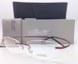 New SILHOUETTE Rimless Eyeglasses TITAN MINIMAL ART 7581 4248 6052 Black... - $299.95