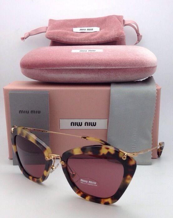 798f84cc5178 New MIU MIU Sunglasses SMU 10N 7S0-0A0 55-24 and 45 similar items