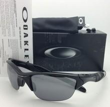 New OAKLEY Sunglasses HALF JACKET 2.0 OO9144-01 Polished Black w/ Black Iridium