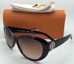 f9b7cdf359 New TORY BURCH Sunglasses TY 7005 510 8 Tortoise Cat-Eye Frame w