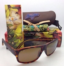 New Maui Jim Sunglasses Free Dive Mj 200-10M Matte Tortoise w/ Bronze Polarized - $249.95