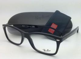 New RAY-BAN Eyeglasses HIGHSTREET RB 5228 2000 53-17 Black w/ Clear Demo Lenses
