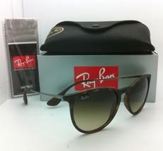New Ray-Ban Sunglasses ERIKA RB 4171 865/13 Tortoise Frame Brown Gradient Lenses