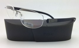 New SILHOUETTE Eyeglasses ENVISO 7644 6059 56-21 Brilliant Black w/ Clea... - $263.95