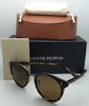 New Oliver Peoples Sunglasses Spelman Ov 5323S 100353 Cocobolo Frames w/ Brown - $434.99