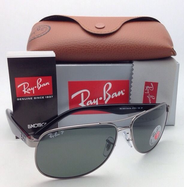 47d08dba1f S l1600. S l1600. Previous. New Ray-Ban POLARIZED Sunglasses HIGHTSTREET RB  3502 004 58 61-14 Gunmetal