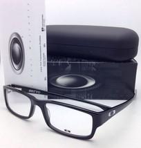 New OAKLEY Eyeglasses SERVO OX 1066-0155 55-18 Polished Black Frame