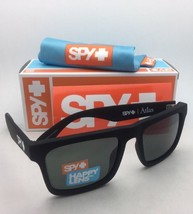 New SPY OPTIC Sunglasses ATLAS Soft Matte Black Frame w/ Happy Grey-Green