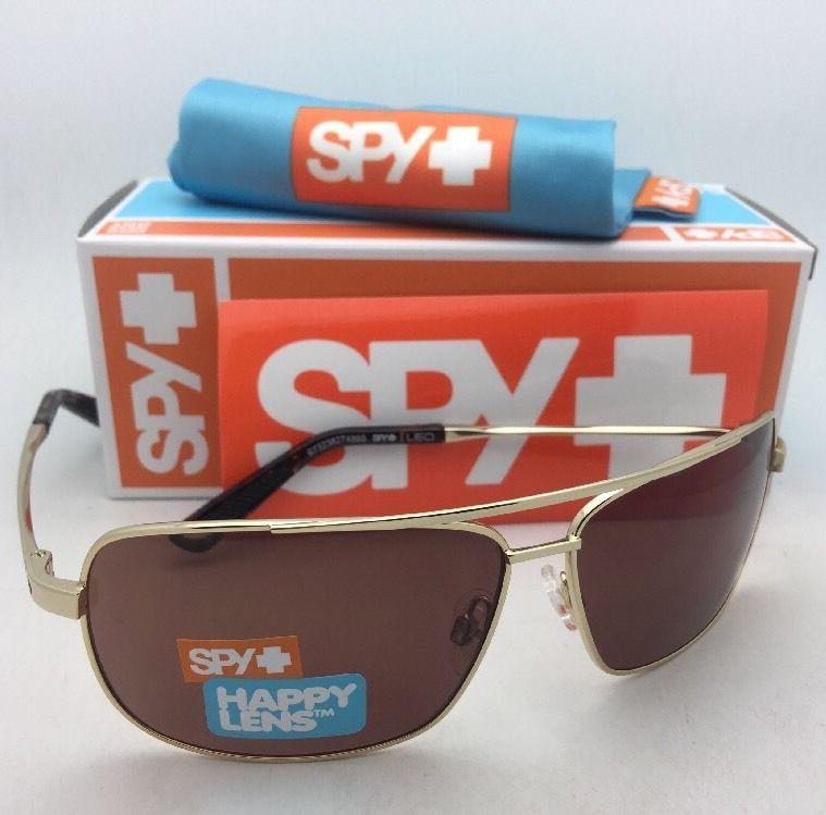 543a0714caa08 New SPY OPTIC Sunglasses LEO Gold Aviator and 50 similar items. S l1600